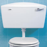Dudley Elite Low Level Side Entry Plastic Cistern - White - 06095685